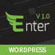 Enter - One Page Parallax WordPress Theme - ThemeForest Item for Sale