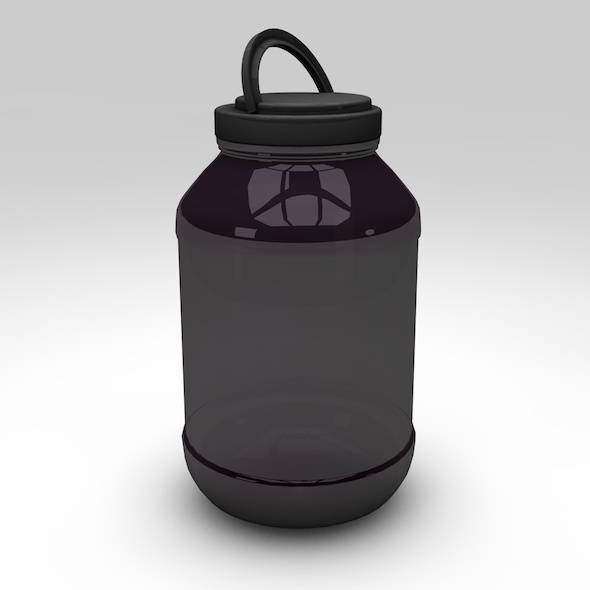 Protein Container with Studio Setup - 3DOcean Item for Sale