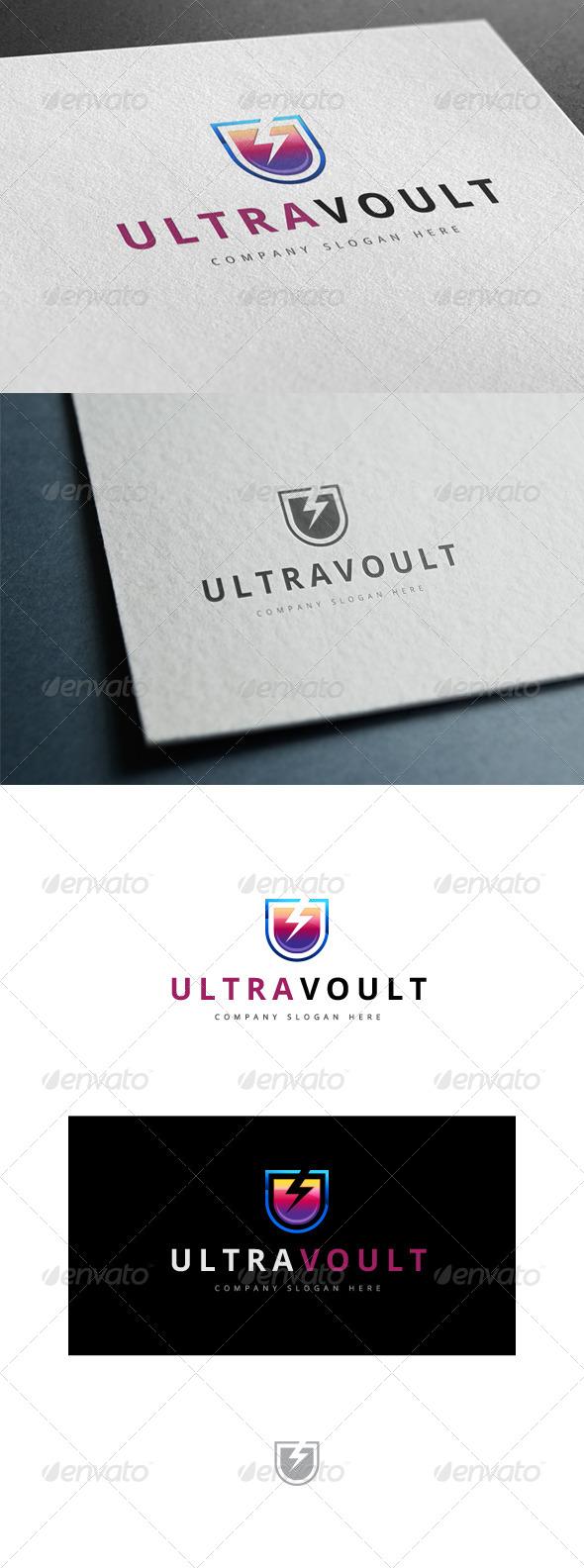 GraphicRiver Ultra Volt Logo 7790794