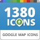 115 Unique Maps Icons for Directory WP Theme - GraphicRiver Item for Sale