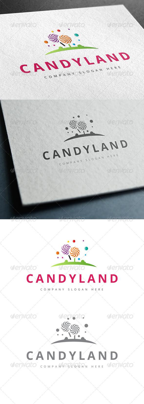GraphicRiver Candy Land Logo 7791317
