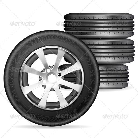 GraphicRiver Tires 7791319