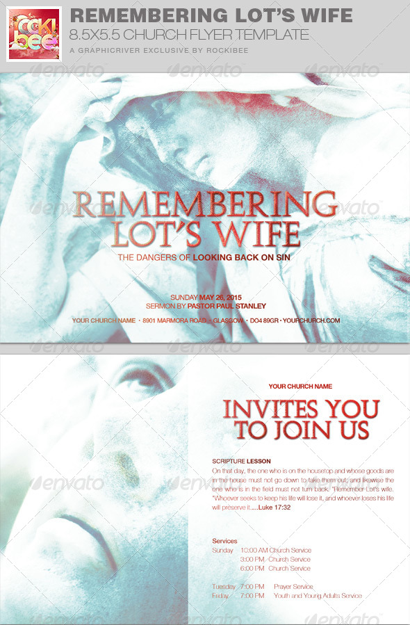 GraphicRiver Remembering Lot s Wife Church Flyer Invite Templat 7791447