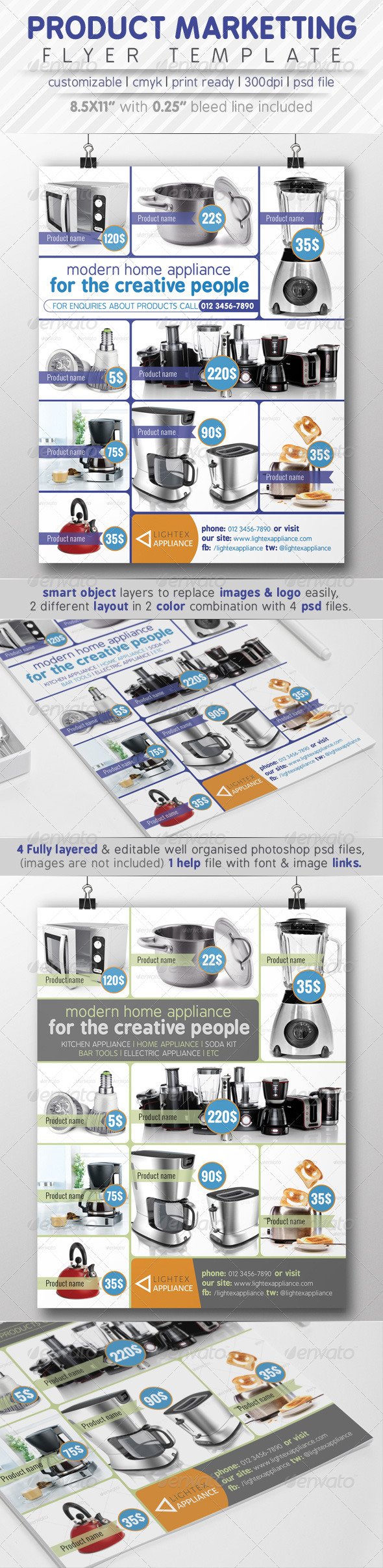 GraphicRiver Product Marketting Flyer Ads 7773790
