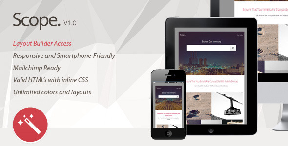 ThemeForest Scope Multipurpose Responsive Email Template 7791640