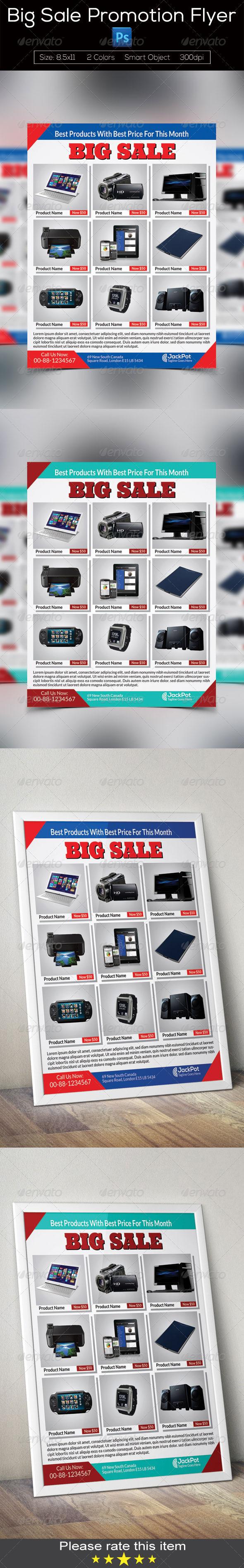 GraphicRiver Big Sale Promotion Flyer 7791680
