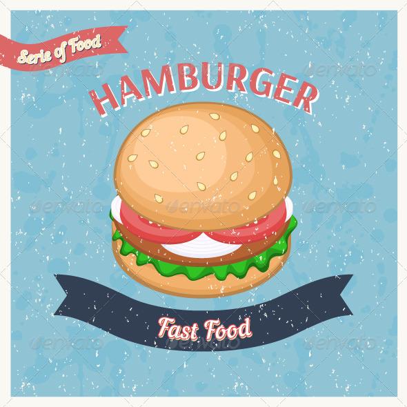 GraphicRiver Hamburger Poster 7791712