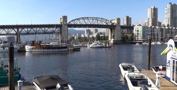 Vancouver Granville Island Harbor 20