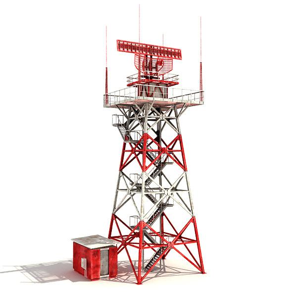 Big Radar Tower - 3DOcean Item for Sale