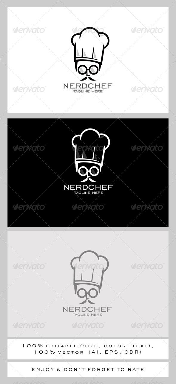 Nerd Chef Logo