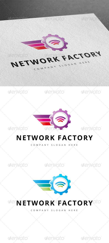 GraphicRiver Network Factory Logo 7791997