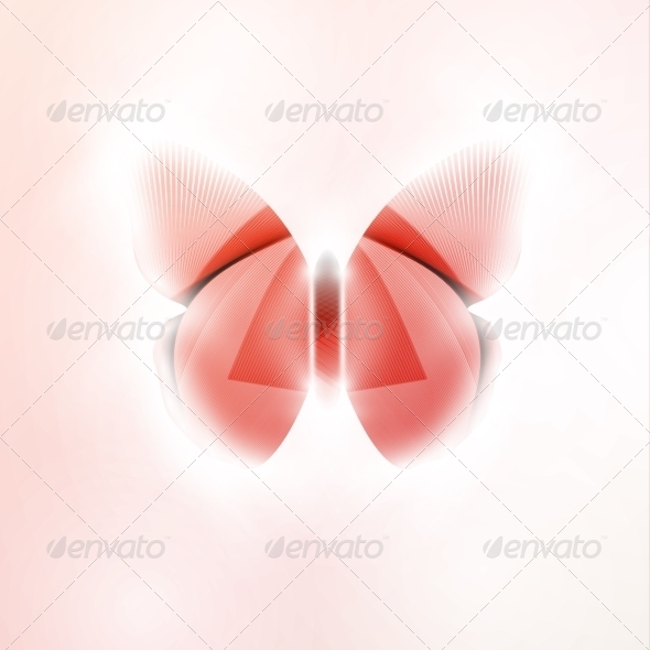 GraphicRiver Abstract Butterfly 7793174