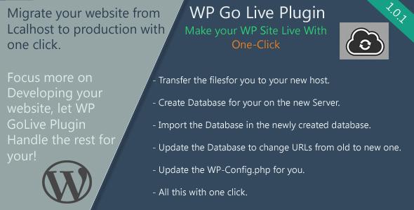 CodeCanyon WP GoLive 7793291