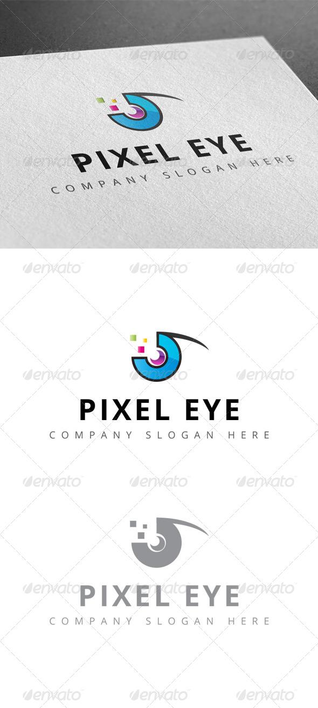 GraphicRiver Pixel Eye Logo 7793354