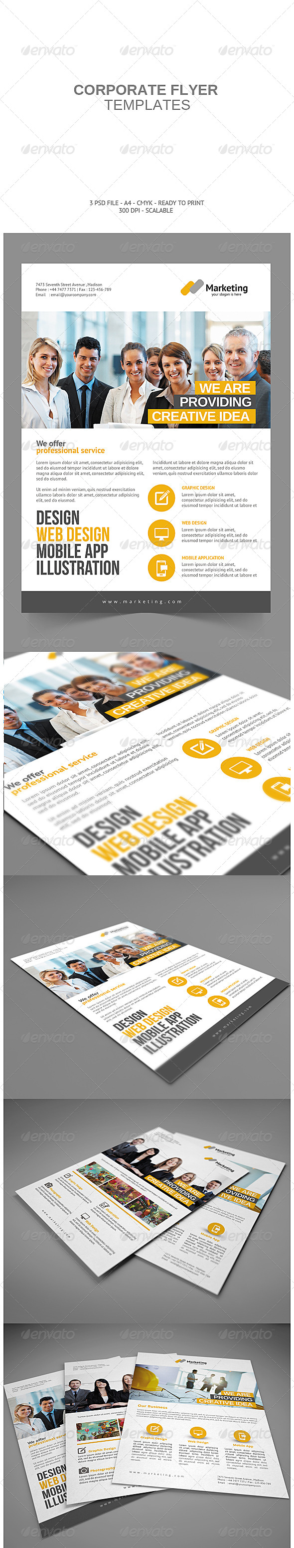 GraphicRiver Corporate Flyer 7793450