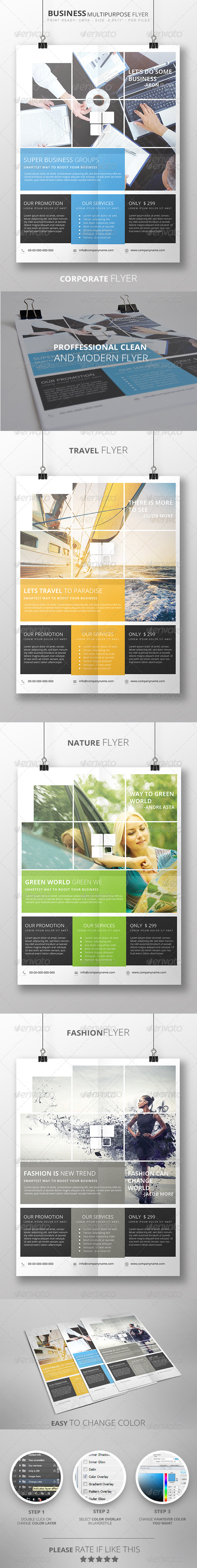 GraphicRiver Business Multipurpose Flyer 7793482