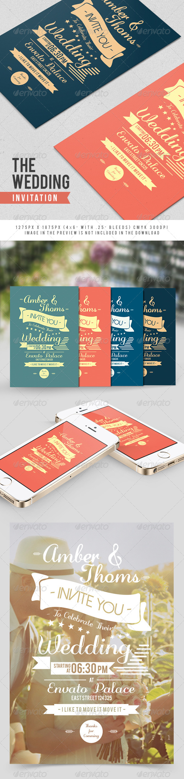 GraphicRiver The Wedding Invitation 7793774