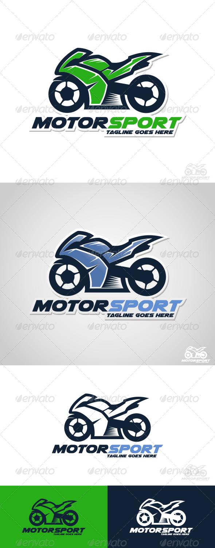 GraphicRiver Motor Sport Logo Template 7793896