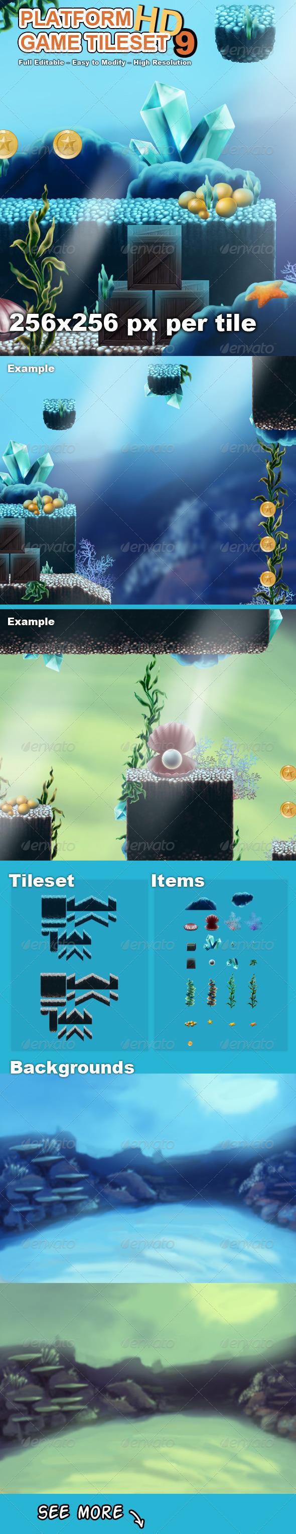 GraphicRiver Platform Game Tileset 9 HD 7793911