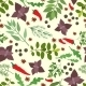 Fresh Herbs and Spices Seamless Pattern - GraphicRiver Item for Sale