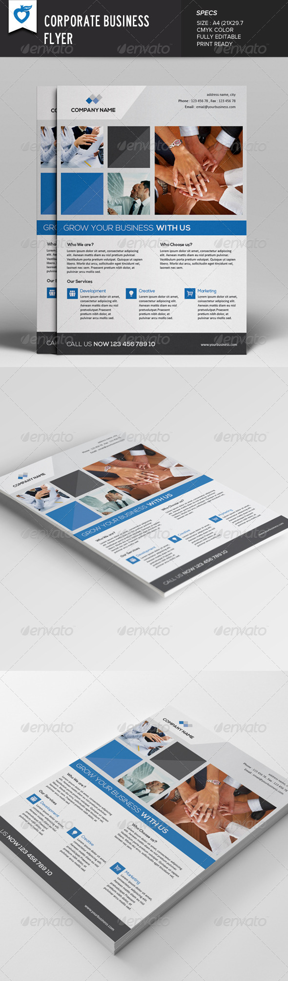 GraphicRiver Corporate Business Flyer v2 7794045