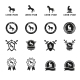 Horse Labels and Signs - GraphicRiver Item for Sale