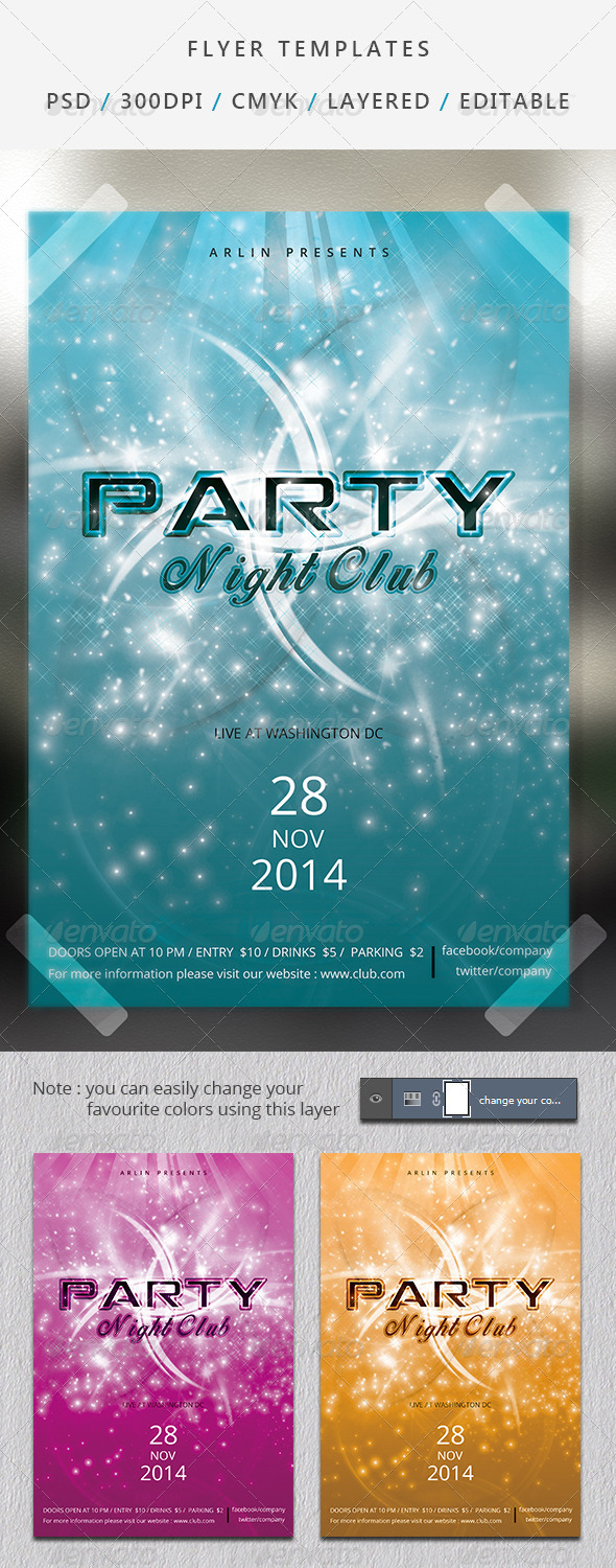 GraphicRiver Party flyer 6900284