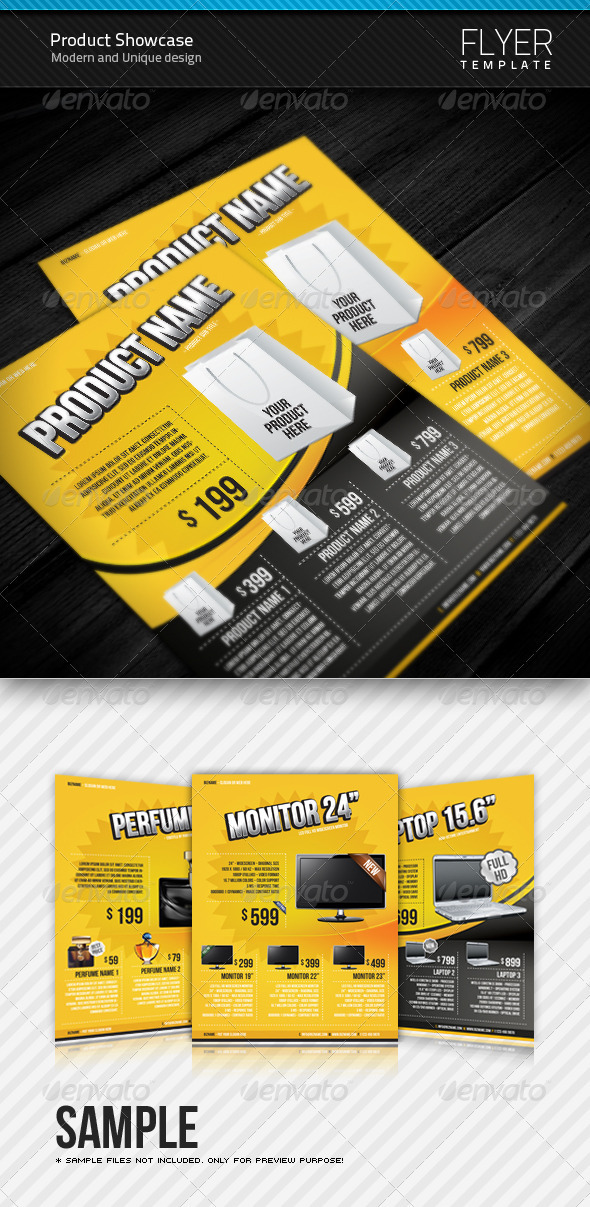 Product Flyer templates - Commerce Flyers