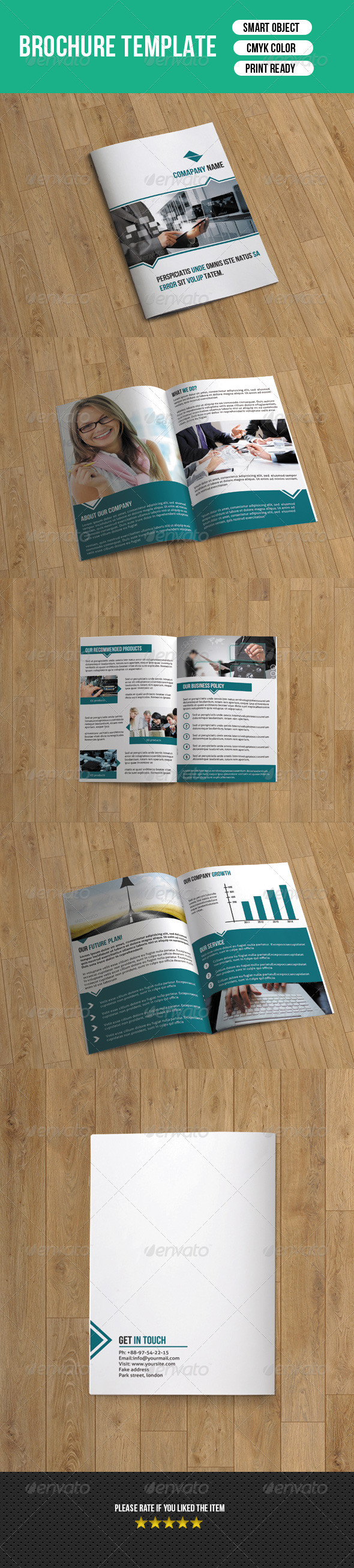 GraphicRiver 8 Page Business Brochure-V12 7794743