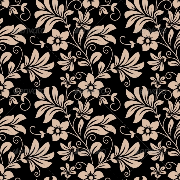 GraphicRiver Floral Wallpaper 7794847