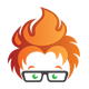 Geek On Fire Logo