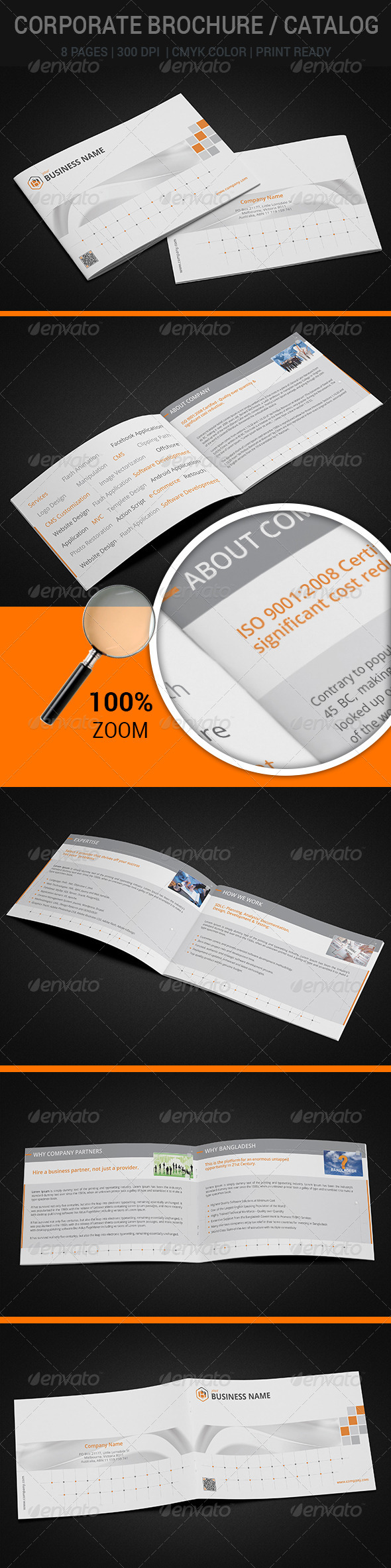 GraphicRiver Corporate Brochure 7776610