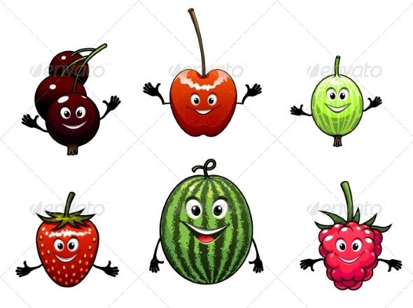 Happy Friendly Fruit