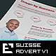 Suisse Corporate Advert / US Letter / A4 v1 - GraphicRiver Item for Sale