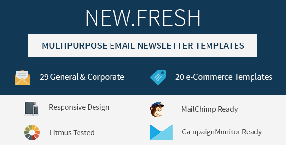 ThemeForest New.Fresh Responsive email newsletter templates 7745300