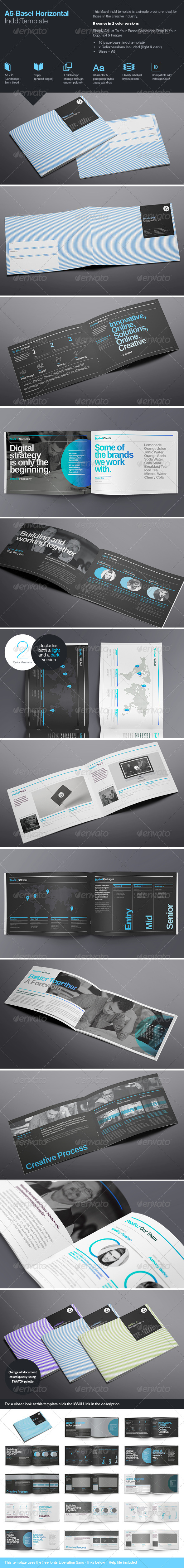 GraphicRiver Basel Template A5 7795449