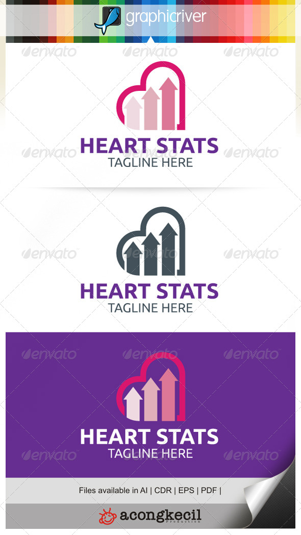 GraphicRiver Heart Stats 7795603
