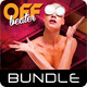 3 in 1 Techno CD Cover Artwork Bundle 02 - GraphicRiver Item for Sale