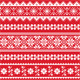 Red Folk Pattern - GraphicRiver Item for Sale