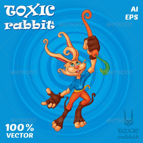 GraphicRiver Toxic Rabbit 7776875