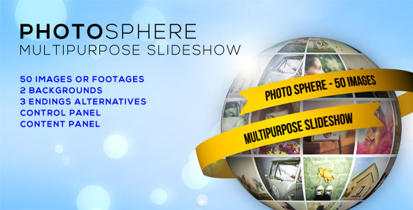 PhotoSphere MultiPurpose Slideshow