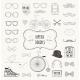 Hipster Retro Vintage Doodle Icon Set - GraphicRiver Item for Sale