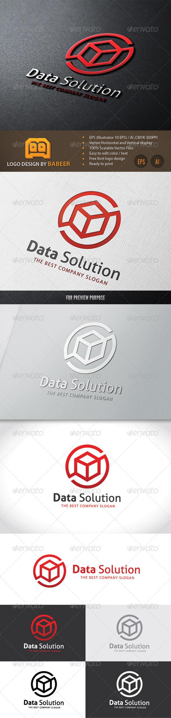 GraphicRiver Data Solution 7796970