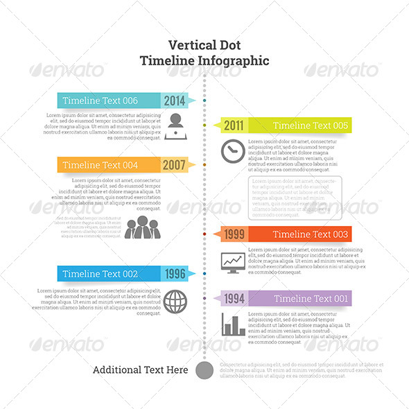 GraphicRiver Vertical Dot Timeline Infographic 7797217