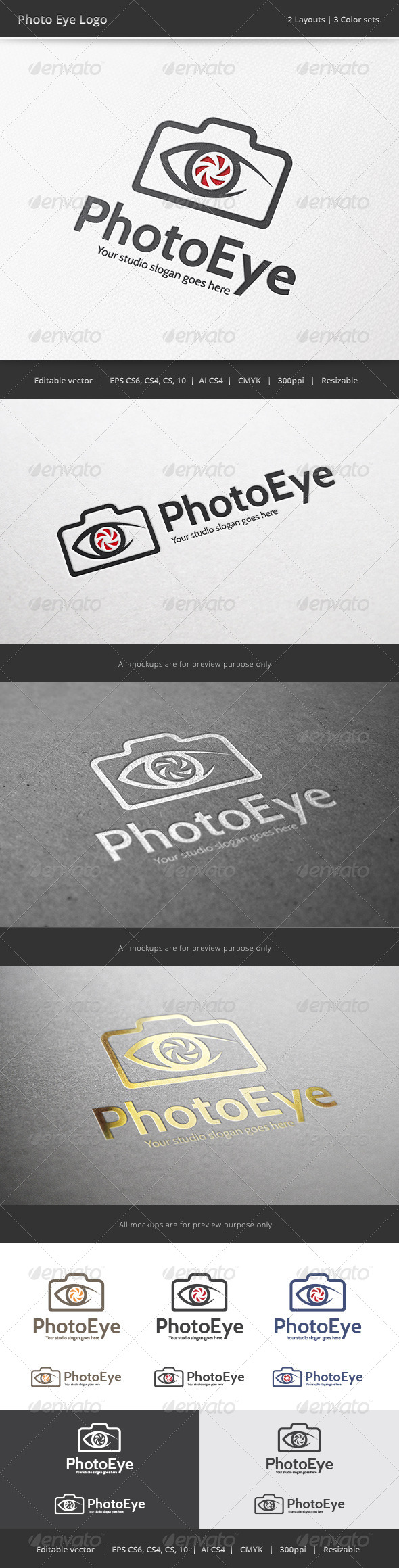 Photo Eye Camera Logo