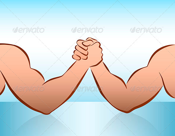 GraphicRiver Arm Wrestling 7798243