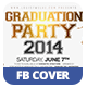 Graduation Party | Facebook Cover - GraphicRiver Item for Sale