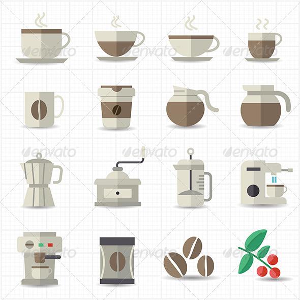 GraphicRiver Coffee Icon 7798394
