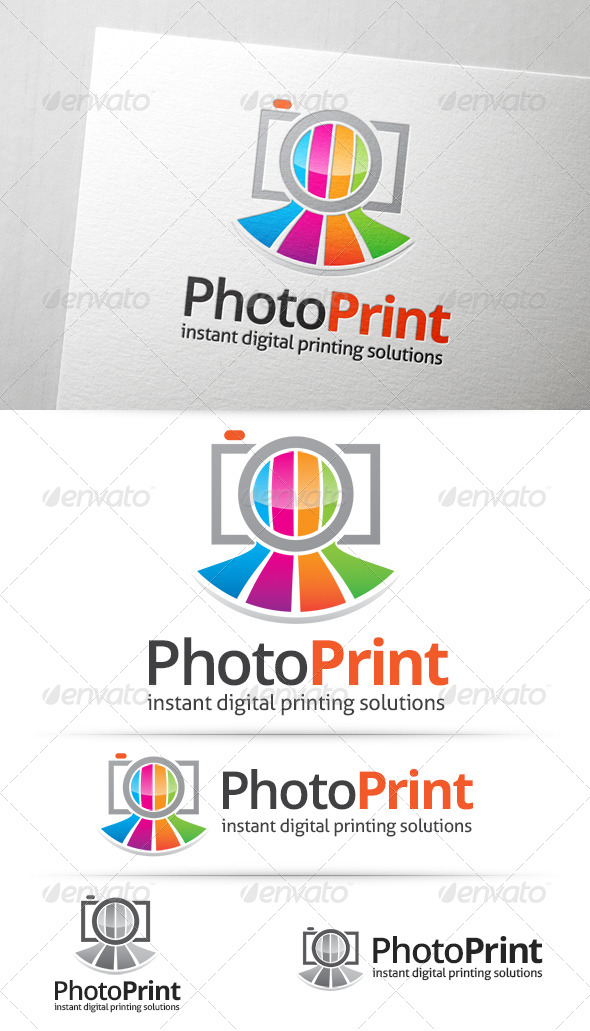 GraphicRiver Photo Print Logo 7798415