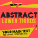 Abstract Lower Thirds - VideoHive Item for Sale